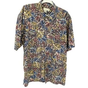 The Territory Ahead Short Sleeve Funky Abstract XL